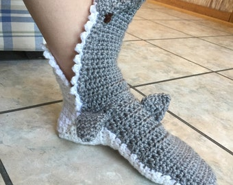 Shark bite socks