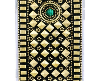 iPhone 6 Green stone mobile cover