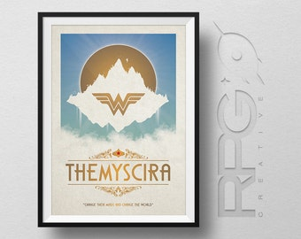 Wonder Woman Origin Poster : Themyscria - DC