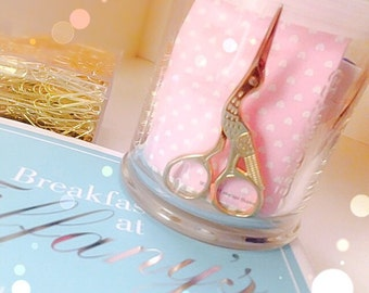 Stainless steel gold bird scissors