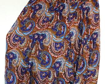 Donna harem pantaloni etnici Aladdin Harem Pant Aladdin Hippie blu blu