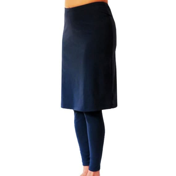 Skirt With Attached Legging