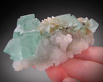 For Sale Fluorite and Quartz Crystals, Riemvasmaak, South Africa