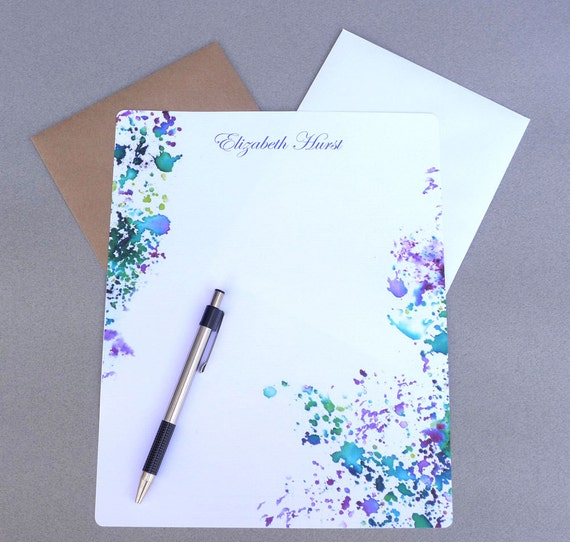 Personalized Papers Executive Stationery: Stationary Paper Personalized Stationery Set Writing Paper