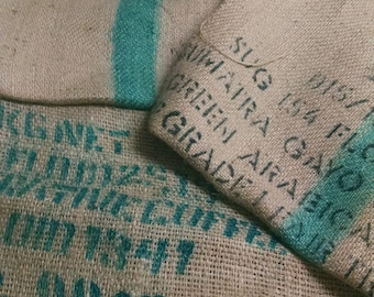 Custom Pillow Cover from Coffee Grain Sack