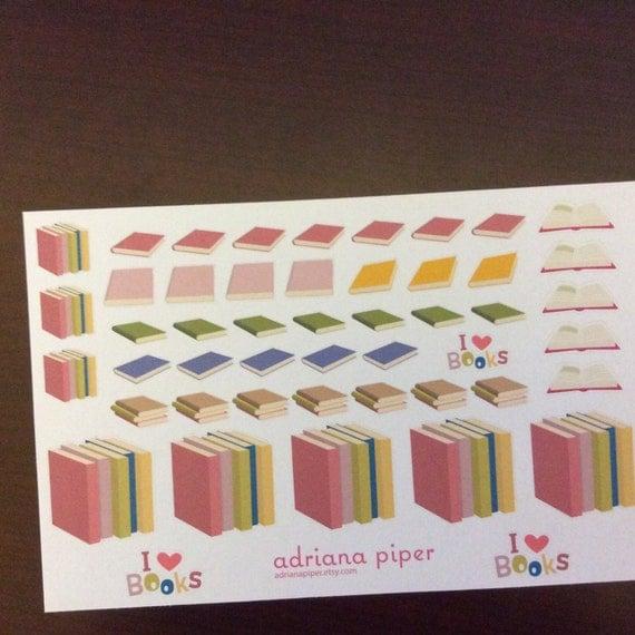 Book Collection 49ct For Erin Condren Life Planner Plum Paper