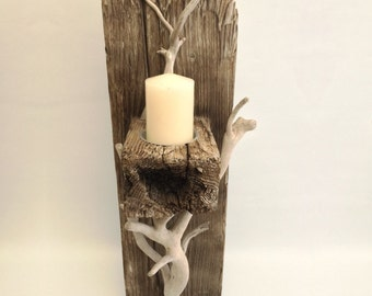 Driftwood Candle Holder / Sconce