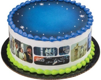 Star Wars Galaxy - Edible Cake Image