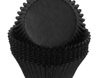 Black Cupcake Liners - 100 Count
