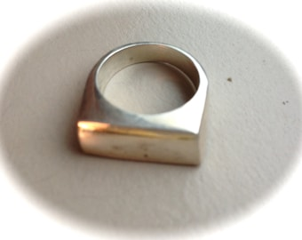 Solid Sterling Silver Ring (Available sizes 6, 7, and 8)