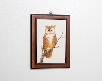 Owl Painting - 1975