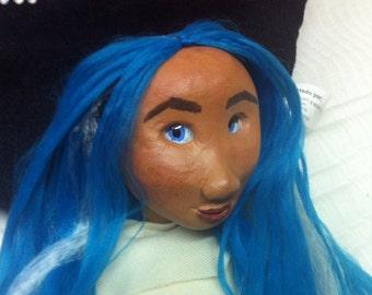 """Puppet, called """"Azulita"""" Indian Princess"""