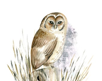 Owl - Woodland Animal Card