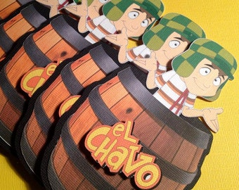 El Chavo invitations