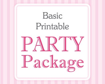 Party Package • with any invitation in our shop