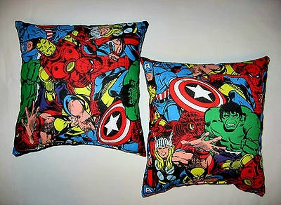 Avengers Throw Pillow Marvel Avengers Pillows Kid s