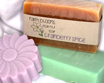 Handcrafted Goat Milk Soap with Essential Oils