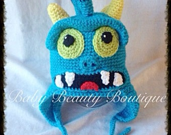 Crochet Monster Grub Skylander Hat