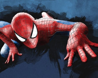 Spider-man - 11x17 Art Print