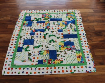 The Very Hungry Caterpillar Child Quilt