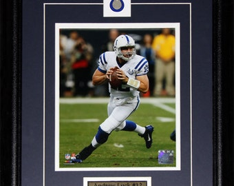 Andrew Luck Indianapolis Colts NFL football 8x10 frame