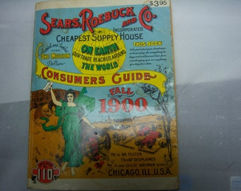Sears,Roebuck and Co. Reproduction consumers guide--Fall 1900