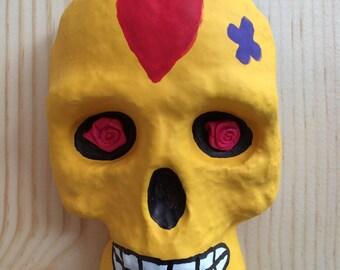 Sugar Skull - wall mounted art