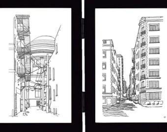 2 Chicago Alleys