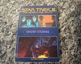 Star Trek III The Search for Spock- Short Stories Paperback