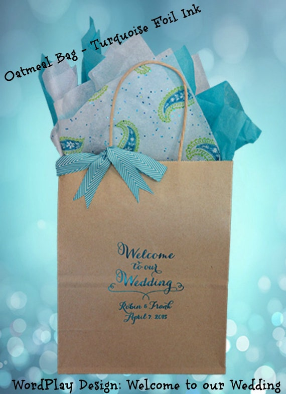 Personalised Wedding Gift Bags Guests : Personalized Wedding Welcome Bags Wedding Guest Gift Bags Welcome Bags ...