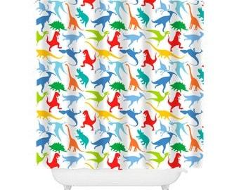 Curtains Ideas boys dinosaur curtains : Dinosaur bathroom | Etsy