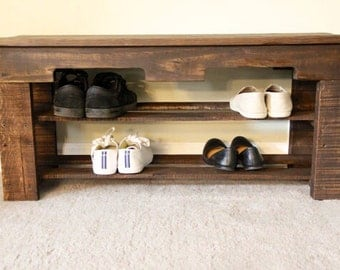 Pallet Entryway Shoerack