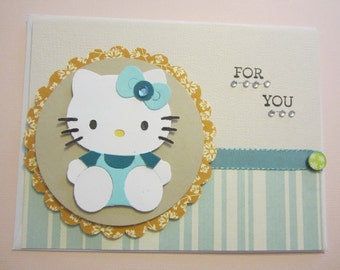 For You Hello Kitty Card