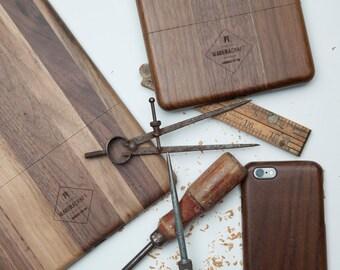 Walnut Wood iPad Air Case