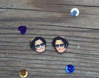 Johnny Depp Earrings