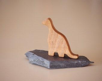 Dinosauro in legno, piccolo dinosauro home decor ragazzo vivaio, regalo per figlio nipote, regalo di laurea di archeologia, piccolo dinosauro torna a scuola