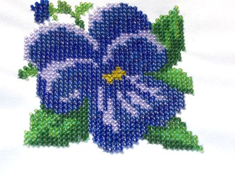 Small beaded painting to decorate your interior