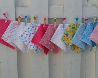 12 wipes flannel minky