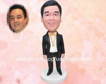 Personalized Groomsman Gift, Groomsmen Gift, Personalized Groomsmen Bobblehead dolls, Groomsman Bobblehead dolls, Best Man Gift