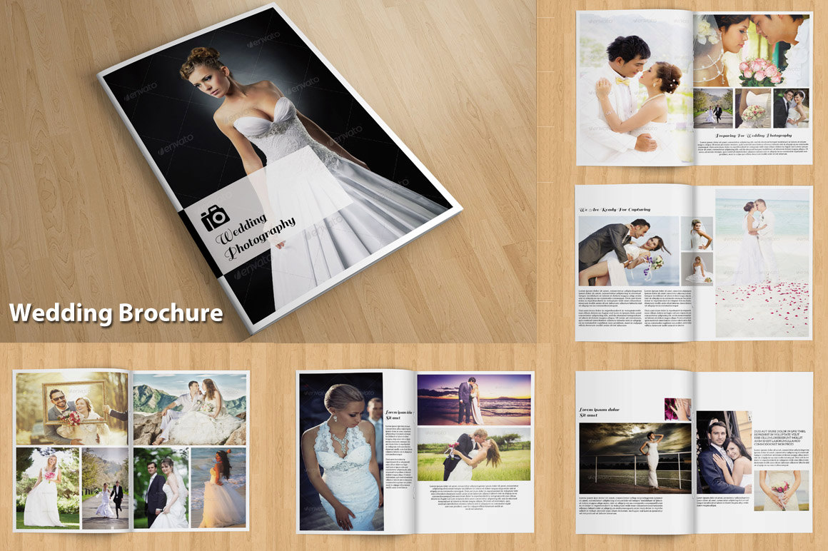 indesign wedding photography brochure wedding photography