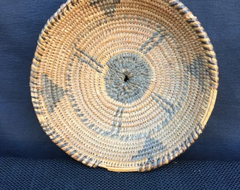 Very old Pima Native American Basket circa 1920s