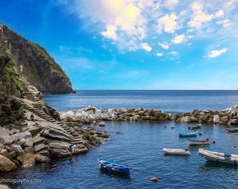 Cinque Terra, Italy, Landscape Photography, Wall Art, Landmark