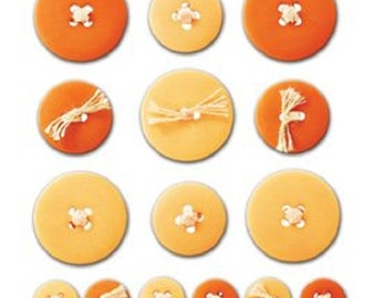 Sticko - Button Ups - Orange