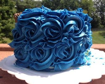 """6"""" Rose Cake"""