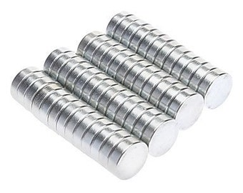 "100pcs Super Strong N42 Neodymium Disc Craft Magnets, 1/4"" X 1/16"" (FLAT SHIPPING)"
