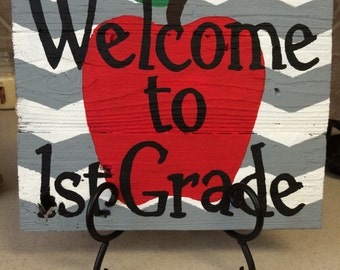 Teacher Gift, Classroom Decor, Picket sign, Pallet Sign, Back to School