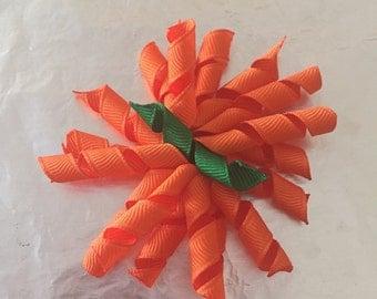 Pumpkin Corker Hair Bow