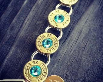 Bullet Bracelet, ammo bracelet, shotgun bracelet, hunting, recycled ammo, spent rounds