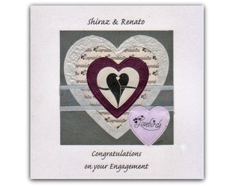 Engagement -Personalised Card