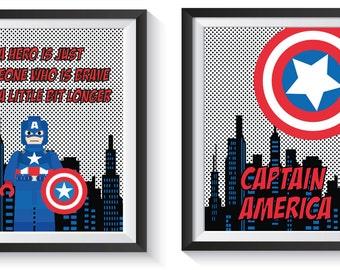 Avengers Bedroom Etsy